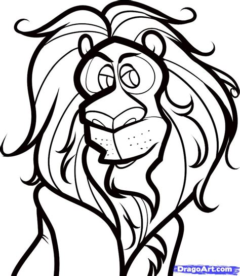 cowardly lion coloring page how to draw the cowardly lion dorothy of oz step by step