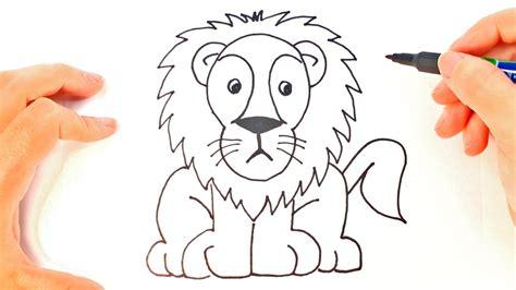 imagenes para dibujar un leon c 243 mo dibujar un le 243 n para ni 241 os dibujo de le 243 n paso a