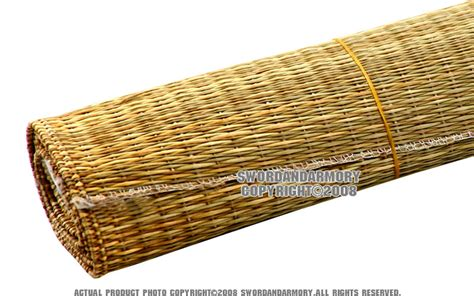 12 pcs wara straw mats for tameshigiri handmade sharp