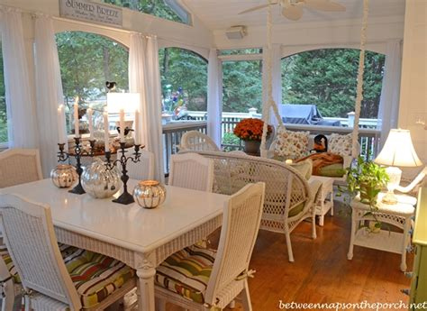 screen porch decorating ideas screened in porch decorated for halloween