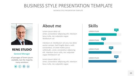 Powerpoint Presentation Template About Me Images Powerpoint Template And Layout About Me Powerpoint Template