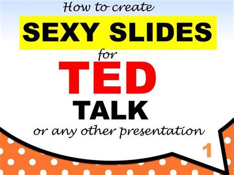 Creating An Effective Powerpoint Presentation Lessons From Ted T Authorstream Ted Talk Presentation Template