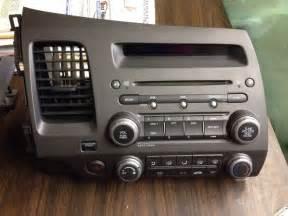 2006 2011 honda civic sedan radio cd player climate
