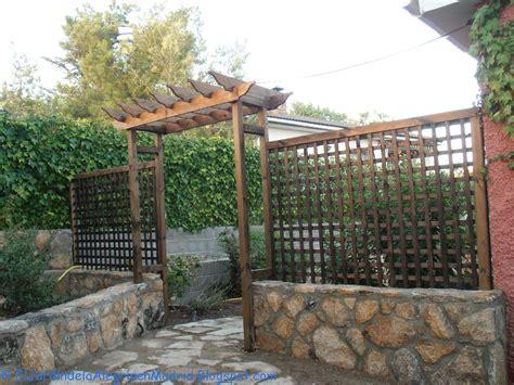 arco jardin el jard 237 n de la alegr 237 a constru 237 mos un arco de madera
