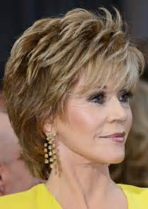 hair styles for with thick hair 70 2014 jane fonda s short hairstyles shaggy pixie cut with