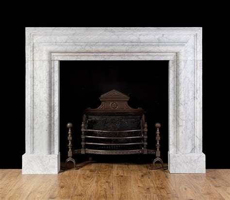Large Fireplace Surrounds by Large Carrara Bolection New Fireplaces New Marble