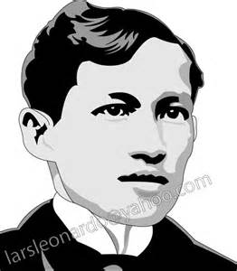 jose rizal colouring pages