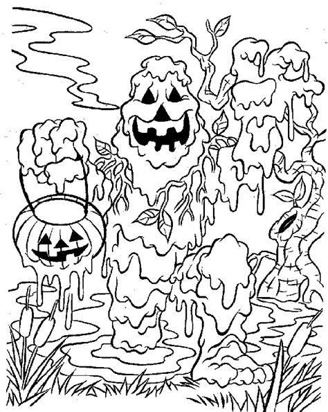coloring pages scary monsters monster coloring page az coloring pages