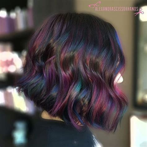 7 Tips For Dying Your Hair Brown by 25 Best Ideas About Rainbow Hair On