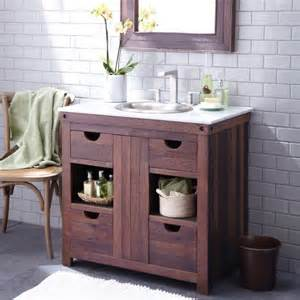 reclaimed wood bath vanity trails