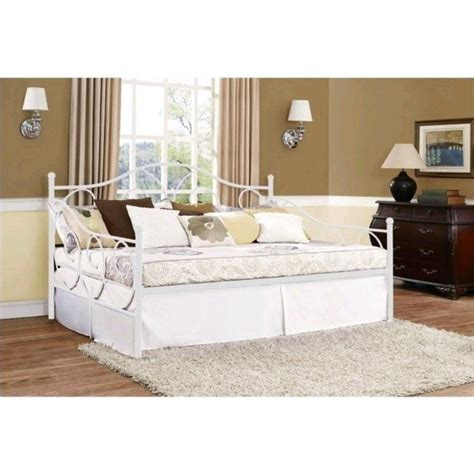 full size day bed ameriwood victoria full size metal white daybed ebay