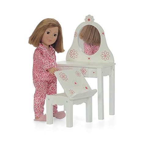 doll houses to fit 18 inch dolls emily rose 18 inch doll house vanity chair set fit american girl dolls furniture ebay