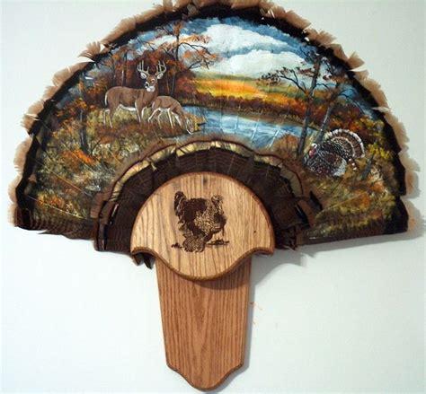 diy turkey fan mount 23 best images about turkey plaques on wall