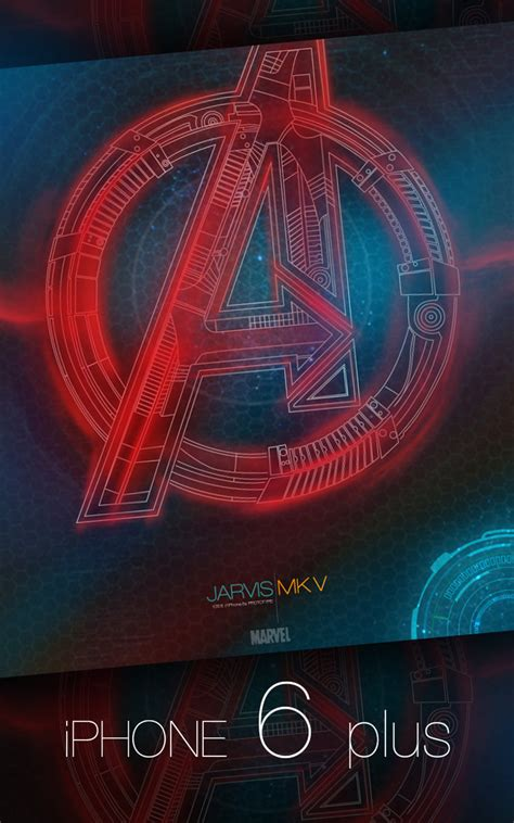 Avengers Theme For Iphone 6 | jarvis mark v iphone 6 plus by hyugewb on deviantart