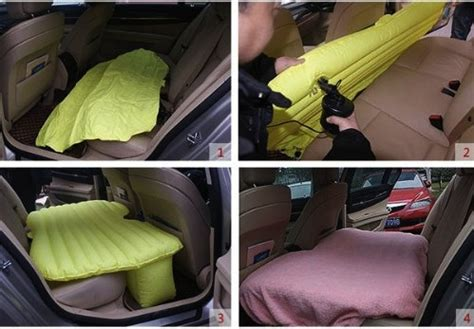 backseat bed inflatable back seat car bed craziest gadgets
