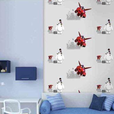 jual wallpaper disney jual dream world wallpaper disney big hero 6 baymax d5079