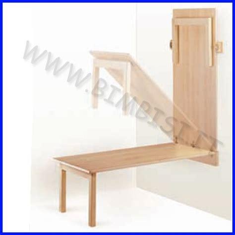tavolo a muro a scomparsa bimbi si arredamento tavoli e sedie per bambini 108