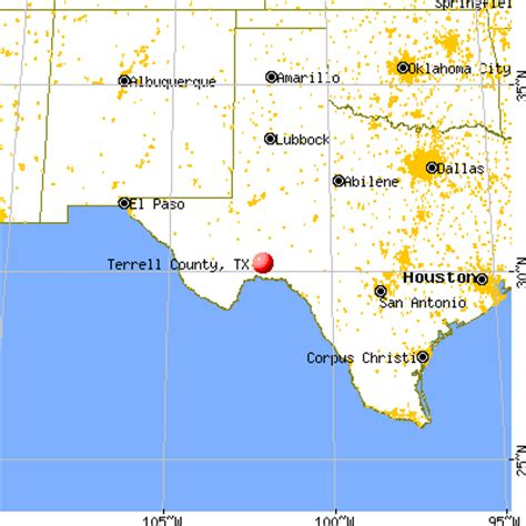 terrell county texas map terrell county texas detailed profile houses real estate cost of living wages work