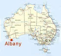 where is albany on the map waratah revisited july 2016