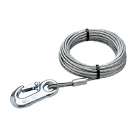 boat trailer winch cable seachoice 174 3 16 quot winch cable 172533 tongue jacks