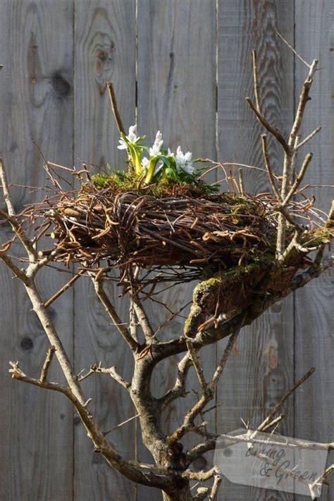 Deko Mit Birkenzweigen by Ein Nest Aus Birkenreisig Nest Aus Birkenreisig Diy