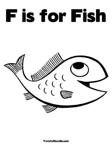 F Fish Coloring Page by 17 Best Images About F Is For Fish Preschool Theme On