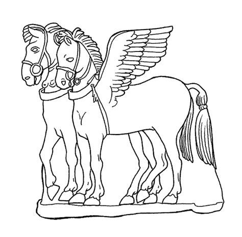 vasi greci da colorare etruschi etrcavalli