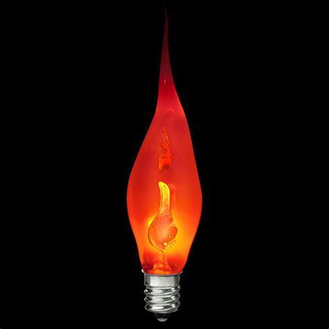 Flickering Led Light Bulbs Bulbrite 411003 Silicone Flicker Bulb Decorative Bulb