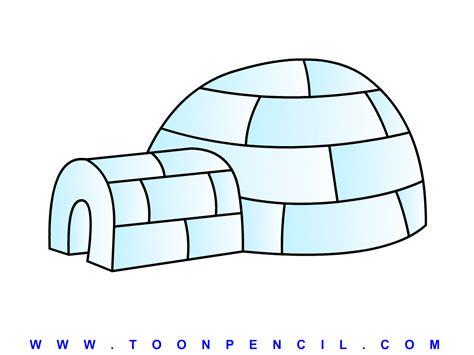 how to draw iglu