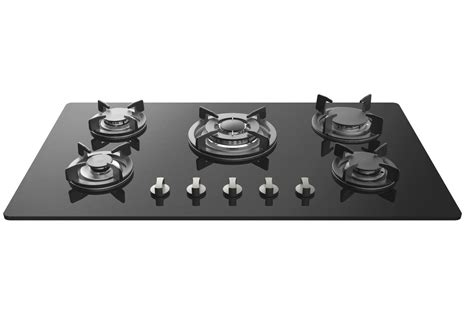 top gas cooktop empava 34 quot tempered glass built in 5 burners gas cooktop
