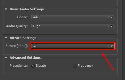 format audio dengan kualitas terbaik cara setting audio suara after effects kualitas terbaik