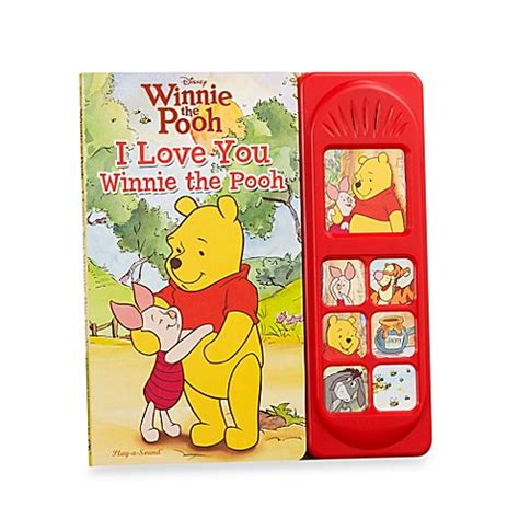 Soft Board Book Winnie The Pooh buy disney 174 sound board books in winnie the pooh i you from bed bath beyond