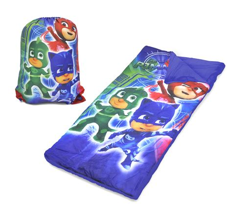 sleeping bag comforter sleeping bag set pj masks sling bag for kids boys girls