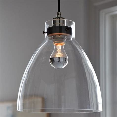 Contemporary Pendant Lighting For Kitchen Industrial Pendant Glass Contemporary Pendant Lighting By West Elm