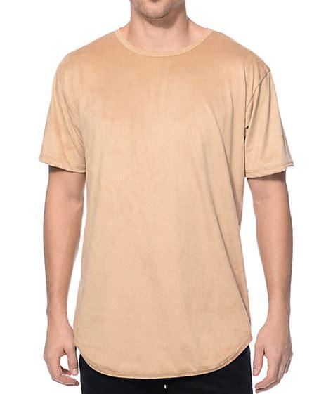 Pdp T Shirt eptm suede elongated t shirt at zumiez pdp