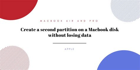 format external hard drive mac without losing data create a second partition on a macbook disk without losing