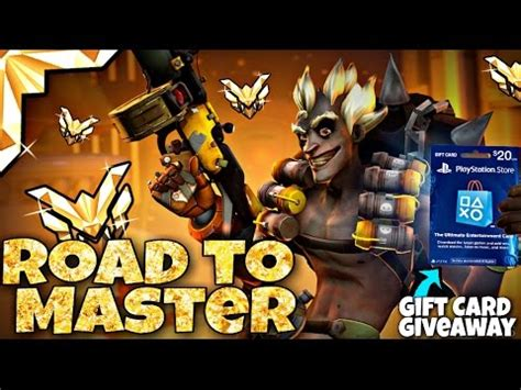 Overwatch Gift Card - overwatch competitive season 3 live ep 3 playstation gift cards giveaway youtube