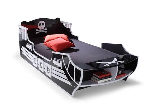 Piraten Bett pirat kinderbett 90 x 200 cm schwarz wei 223