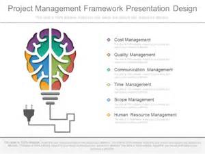 project framework template project management framework presentation design