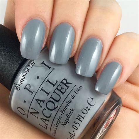 opi grey nail polish names cement the deal opi fifty shades of grey collection