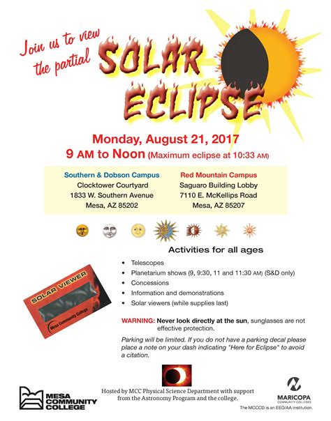 Solar Eclipse Flyer Template