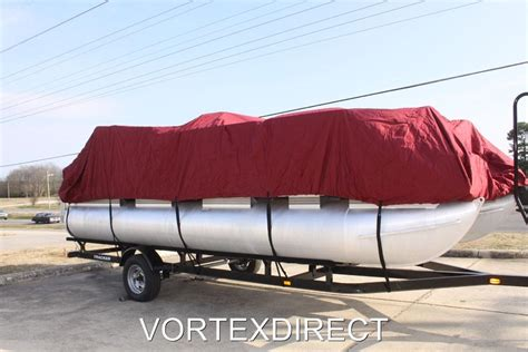 24 ft pontoon boat cover new vortex 23 24 ft ultra 3 purpose pontoon boat cover