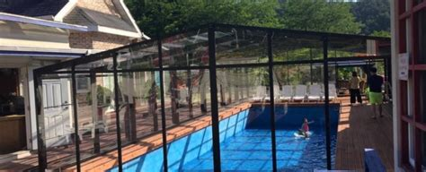 swimming pool enclosures residential information about plastic sheet and excelite