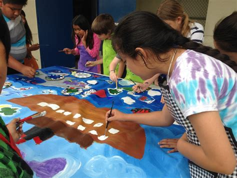 teach children  paint  time lessons