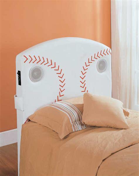 homelegance fantacy land twin baseball speaker headboard