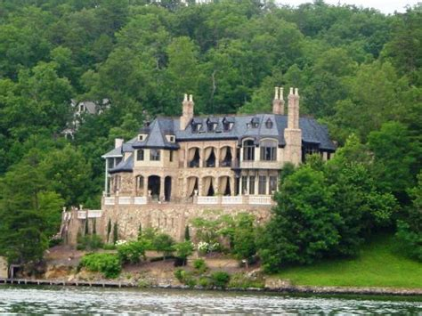 lake lure nc boat rentals one of many expenive homes on lake lure picture of lake