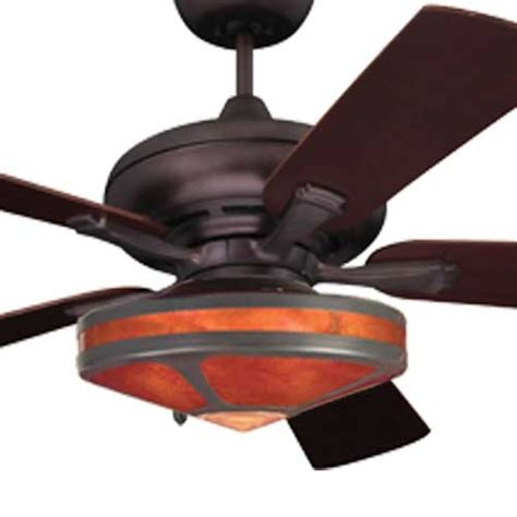 Mission Ceiling Fans With Lights by Mission Fan With Mica Glenaire Light