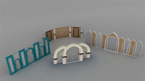 Decoration Islam by 3d Islamic Decoration Turbosquid 1230787