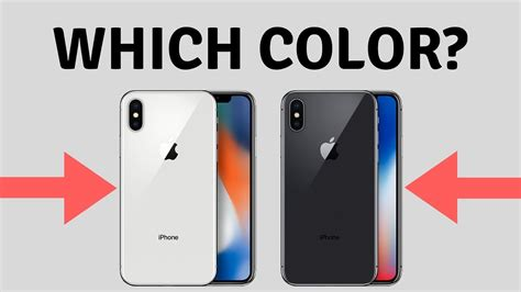 X Iphone Colors Iphone X Color Choice Which Is Best Iphone X Color Comparison