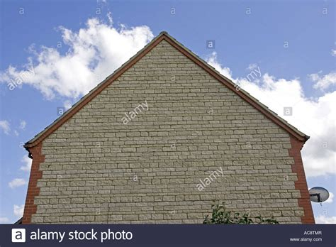 Triangular Gable Triangular Gable End Of Cotswold House With